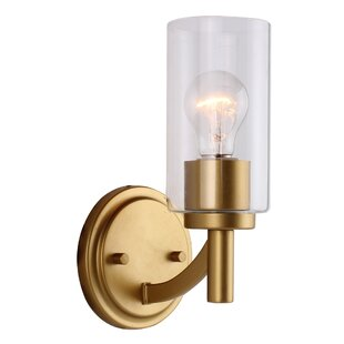 Giovanny 1-Light Armed Sconce by Longshore Tides