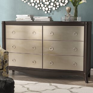 Willa Arlo Interiors Archer 6 Drawer Double ..