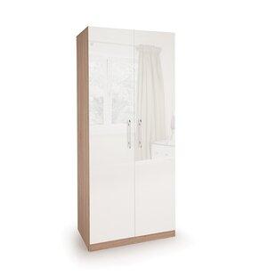 Morley 2 Door Wardrobe By 17 Stories