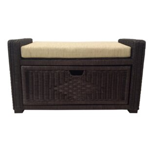 Rattan Wicker Home Furniture Eva Rattan Wicker Storage Bench