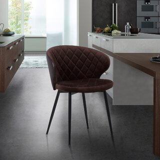 Albertina Upholstered Dining Chair by Wrought Studio SKU:AD226727 Shop