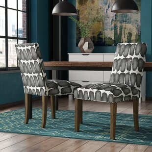 Lozano Upholstered Dining Chair (Set of 2) Ivy Bronx