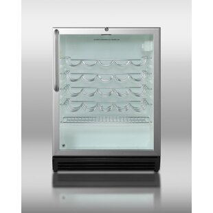 Summit Appliance Summit Commercial 36 Bottle Single Zone Freestanding Wine Cooler