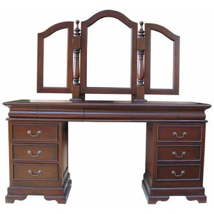 Lloyd Dressing Table Set With Mirror By Rosalind Wheeler