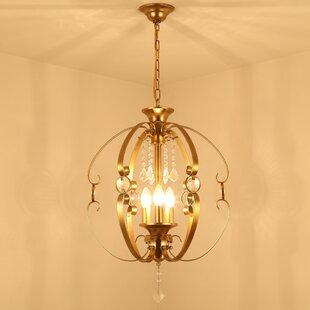 Mission shaker chandeliers youll love 3 light globe chandelier aloadofball Gallery