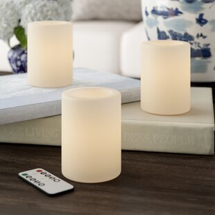 Paraffin Flameless Candle byDarby Home Co