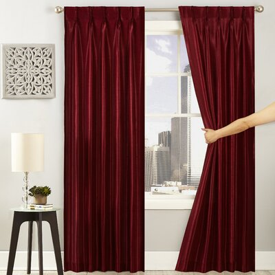 84 Inch Pinch Pleated Curtains Amp Drapes You Ll Love In