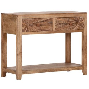 Mancos Wooden Console Table By Bloomsbury Market
