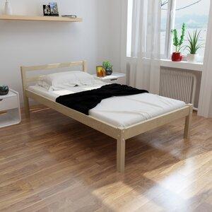 Massivholzbett mit Matratze von dCor design