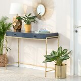 Fuqua 44.5 Solid Wood Console Table by Mercer41