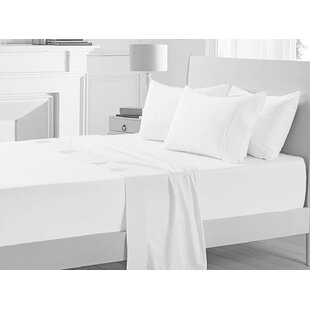 Miral 400 Thread Count Solid Color 100% Cotton Sheet Set