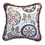 Sunbrella Indoor/Outdoor Floral Throw Pillow