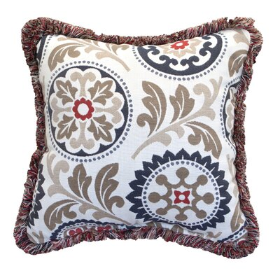 Sunbrella Indoor/Outdoor Floral Throw Pillow by Inspired Visions Purchase