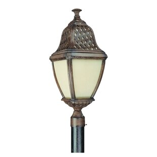 Darby Home Co Theodore Traditional Post Lantern in Biscayne