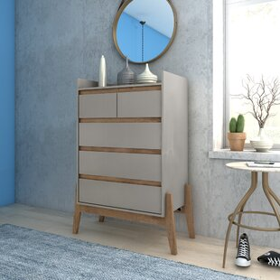 Taul 5 Drawer Dresser by Union Rustic