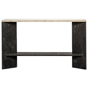 Noir Anvil Console Table