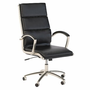 High Back Genuine Leather Conference Chair