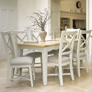 Review Darrell Extendable Dining Set With 6 Chairs