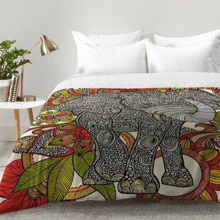 East Urban Home Bo The Elephant Comforter Set