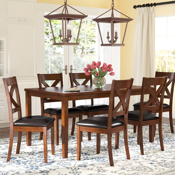 Darby Home Co Nadine 7 Piece Dining Set U0026 Reviews | Wayfair