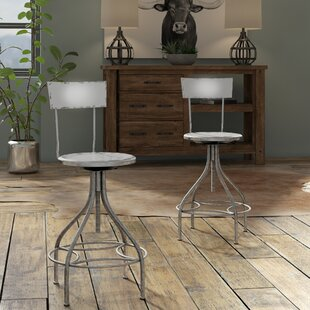 Lomita Adjustable Height Swivel Bar Stool