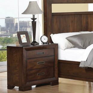 Marazi 3 Drawer Nightstand by Three Posts