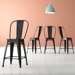 Chelsea 23.5 Bar Stool (Set of 4) by Hashtag Home