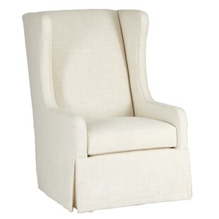 Price Check Reagan Swivel Wingback Chair by Gabby
