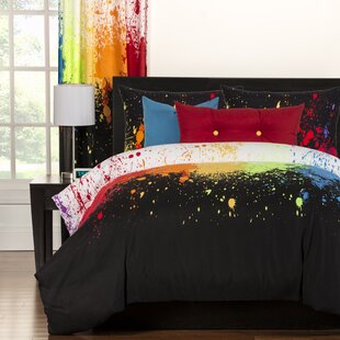 Crayola Cosmic Burst Duvet Cover Set