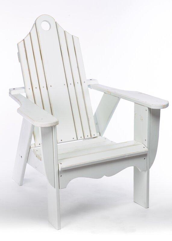 Brookside Solid Wood Adirondack Chair