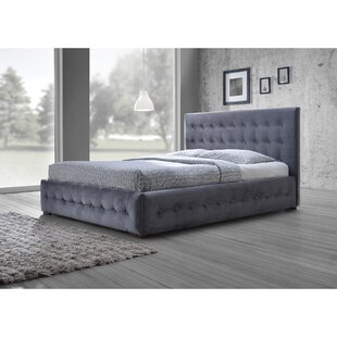 Spicer Queen Upholstered Platform Bed by Ebern Designs Spacial Price