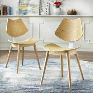 Fryar Solid Wood Dining Chair (Set of 2) George Oliver