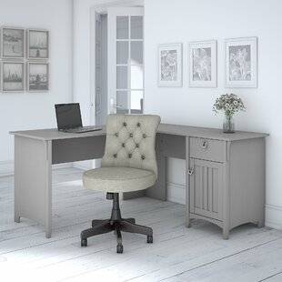 Broadview Credenza desk and Chair Set