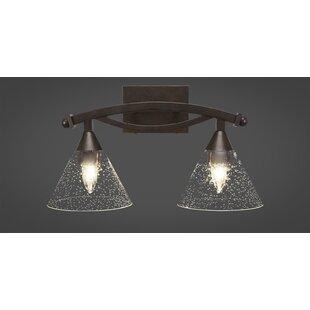 Winston Porter Wealdstone 2-Light Vanity Light