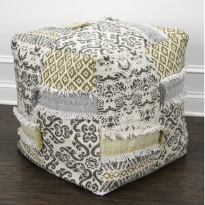 Ross Square Ottoman by Bungalow Rose