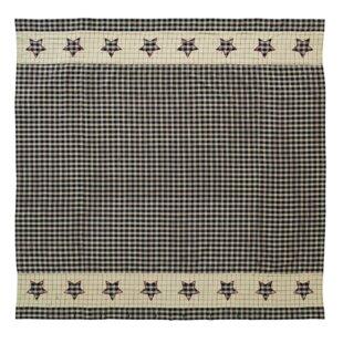 Alise Cotton Single Shower Curtain
