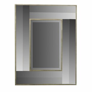 Brayden Studio Gravitt Wooden Accent Mirror
