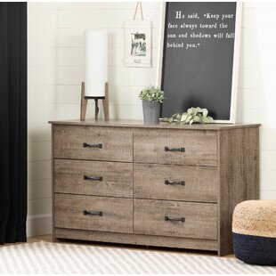 Tassio 6 Drawer Double Dresser