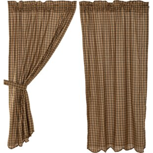 Cambridge Lodge Drape Set from The Cabin Place!
