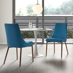 Keegan Solid Wood Dining Chair Set of 2 by AllModern