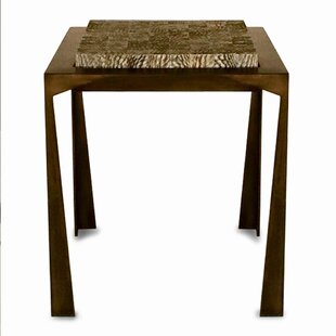 Serge De Troyer Collection Fish Skin End Table