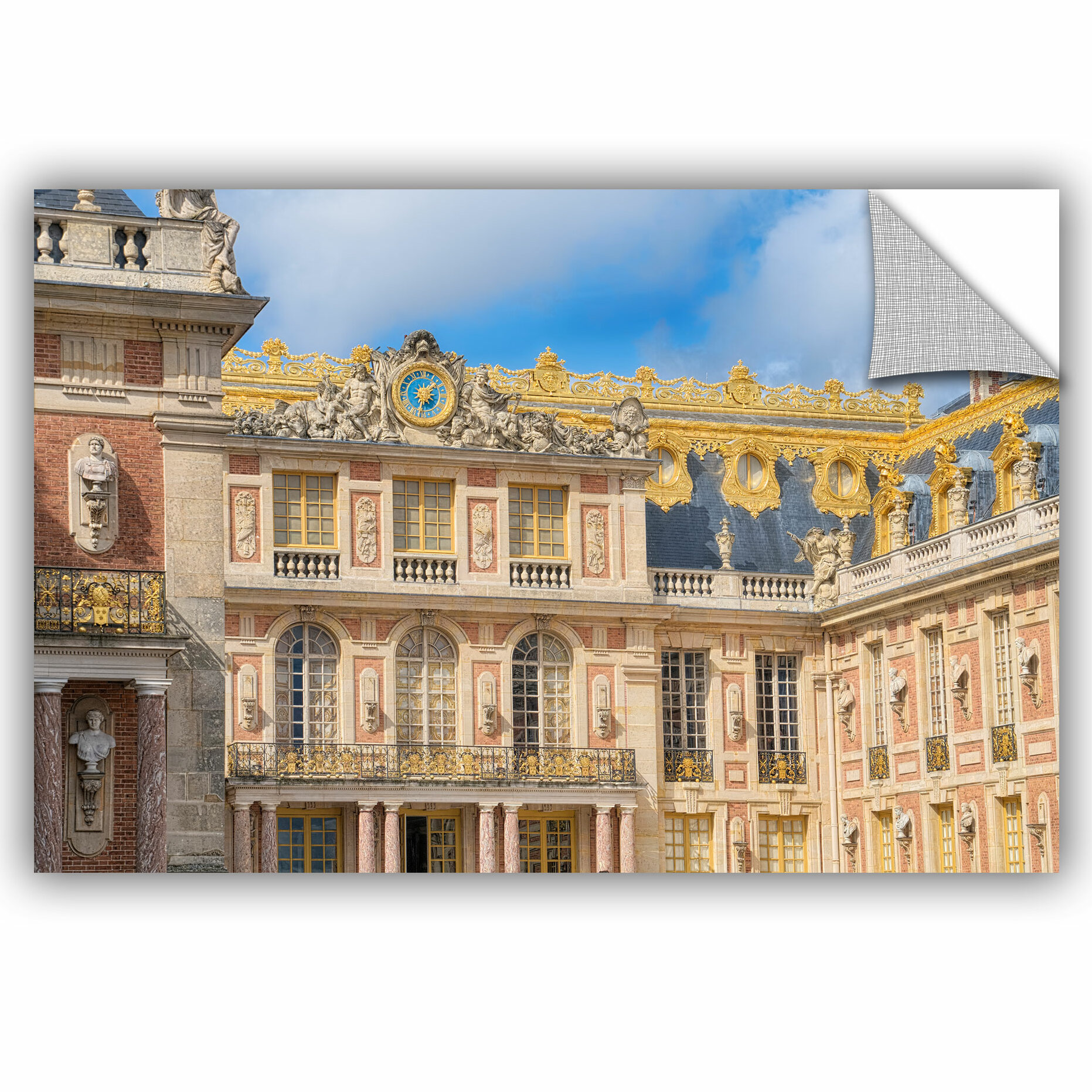 Ebern Designs Palace Of Versailles I Removable Wall Decal Wayfair