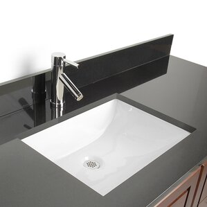 Undermount Bathroom Sink Toronto modern bathroom sinks | allmodern