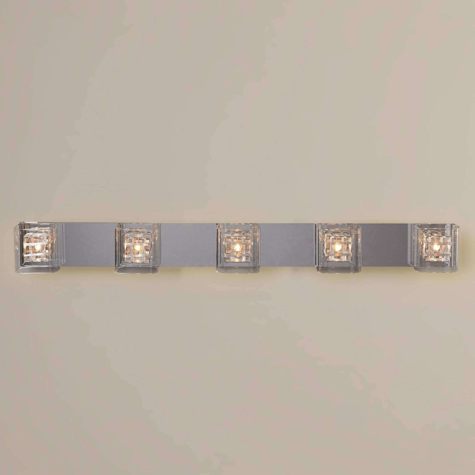 Willa Arlo Interiors Artemisia 5 Light Bath Bar Reviews Wayfair