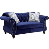Tabitha 76 Flared Arm Loveseat by House of Hampton®