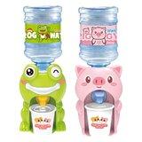 2Pcs Children Mini Water Dispenser Toys Lovely Cartoon Water Fountain Toys