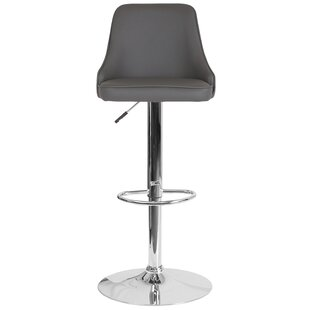 Big Save Glencoe Adjustable Height Bar Stool by Wrought Studio