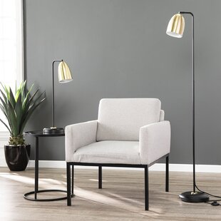 Seigler 2 Piece Table and Floor Lamp Set