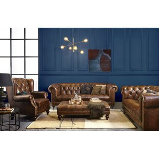 Rollingwood Leather Configurable Sofa Set By Rosalind Wheeler
