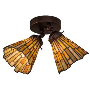 Astoria Grand Weissman 2-Light Semi Flush Mount